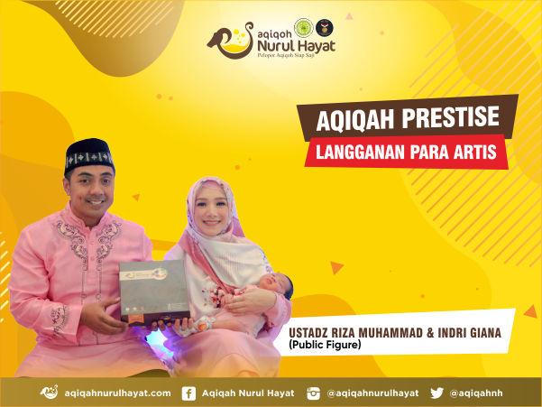 Aqiqah Jakarta Timur Nurul Hayat bersama Ustadz Riza Muhammad & Indri Giana