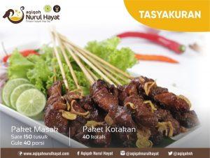 Aqiqah Jakarta Timur Nurul Hayat Tasyakuran